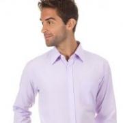 Camisa Social manga longa com Bolso