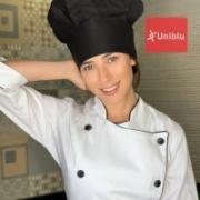 Touca Chefe - Preta ( unisex )