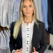 Blazer Social Feminino Executivo - Preto